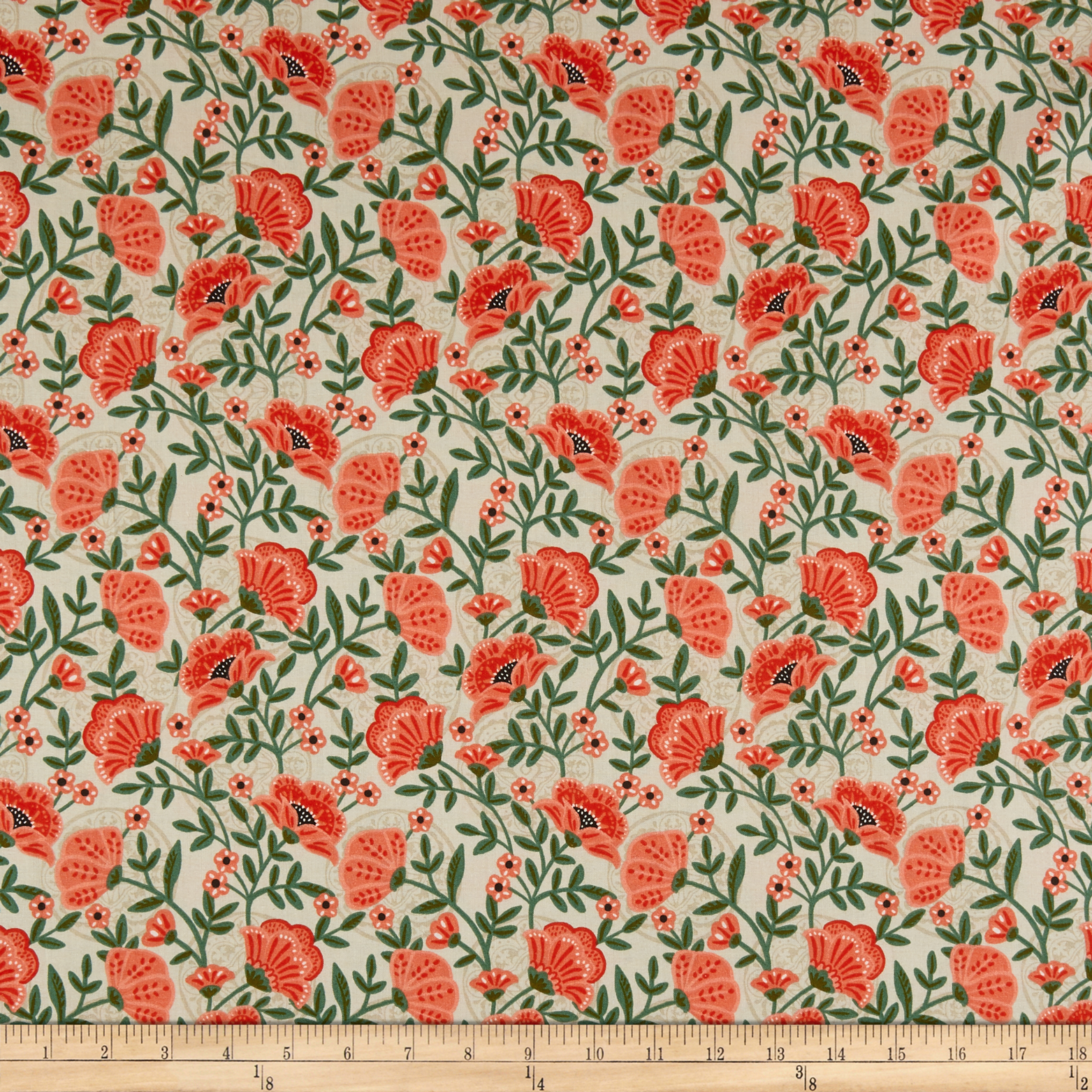 INOpets.com Anything for Pets Parents & Their Pets Fabric Editions Glorious Garden Flowers