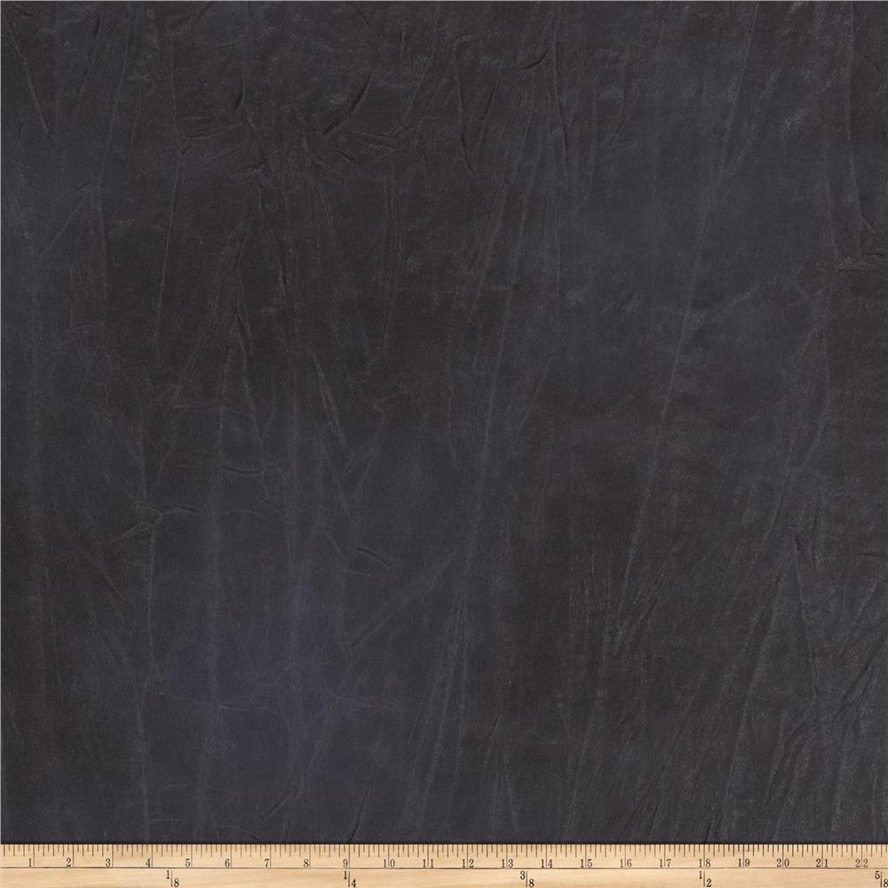 Fabricut Culture Club Faux Leather Elderberry