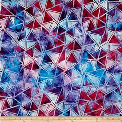 Kaufman Artisan Batiks Graphic Elements Diamonds Multi