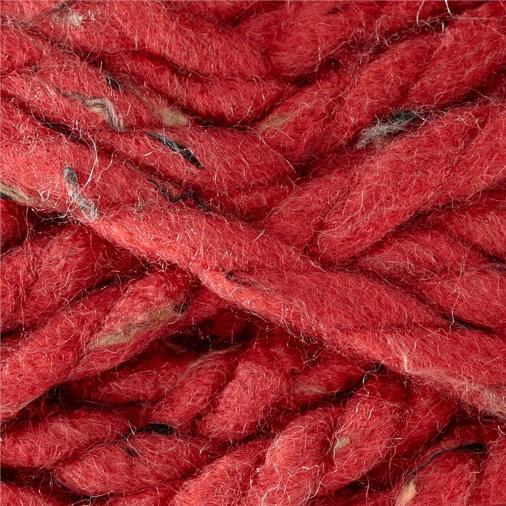 Premier Mega Tweed Super Bulky Yarn 09 Burgundy Tweed