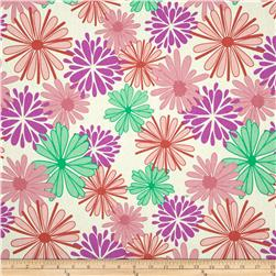 Riley Blake Home Decor Floriography Purple