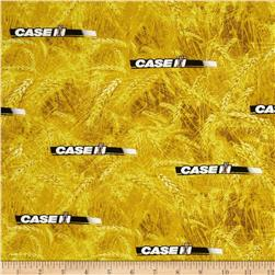 Case IH Logo Allover Yellow