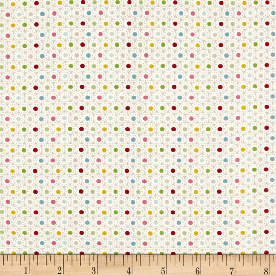 Roundabout Spheres Dots Beige