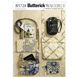 Butterick Bags and Purses Pattern B5728 Size OSZ