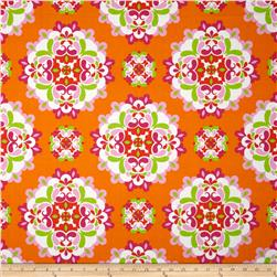 Kanvas Lili-fied Medley Orange/Pink Fabric