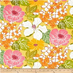 Gramercy Large Floral Yellow/Multi