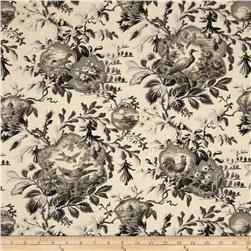 Birds of a Feather Bird Toile Cream/Gray