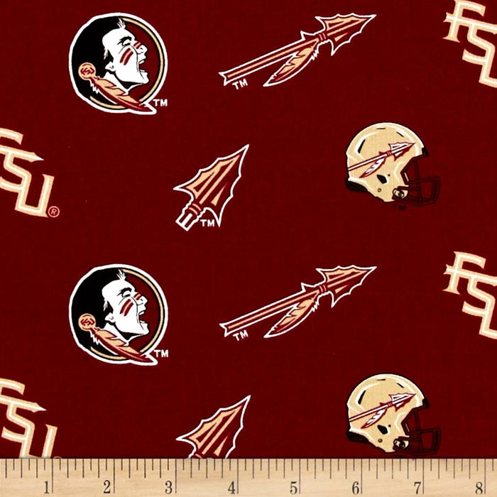 Collegiate Cotton Broadcloth Florida State University