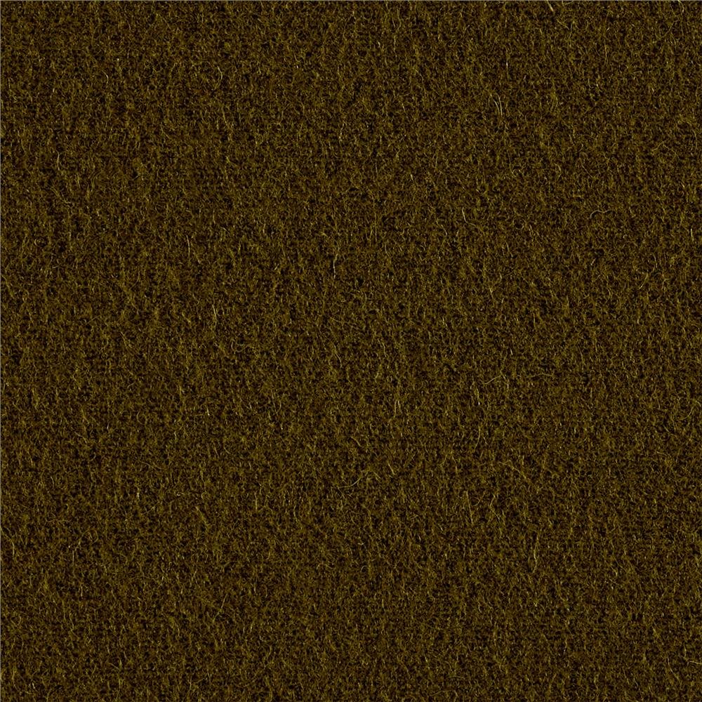 Riley Blake Wool Blend Melton Dark Green