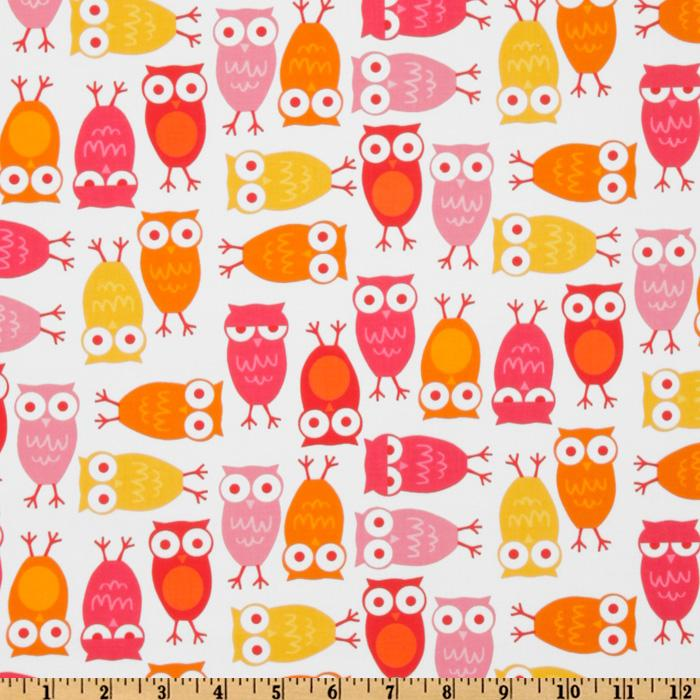 Urban Zoologie Owls White/Orange