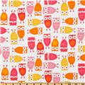 Urban Zoologie Owls Pink