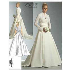 Vogue Misses'/Misses' Petite Dress and Sash Pattern V2979 Size 0A0