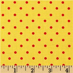 Moda Celebration Dots Yellow/Red