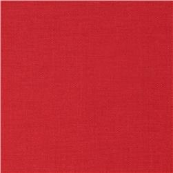 Designer Essentials Solid Broadcloth True Red Fabric