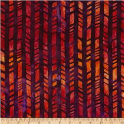 Indonesian Batiks Pop Art Bamboo Wild