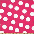 Pimatex Basics Jumbo Dot Hot Pink/White