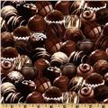 Timeless Treasures Chocolates Brown