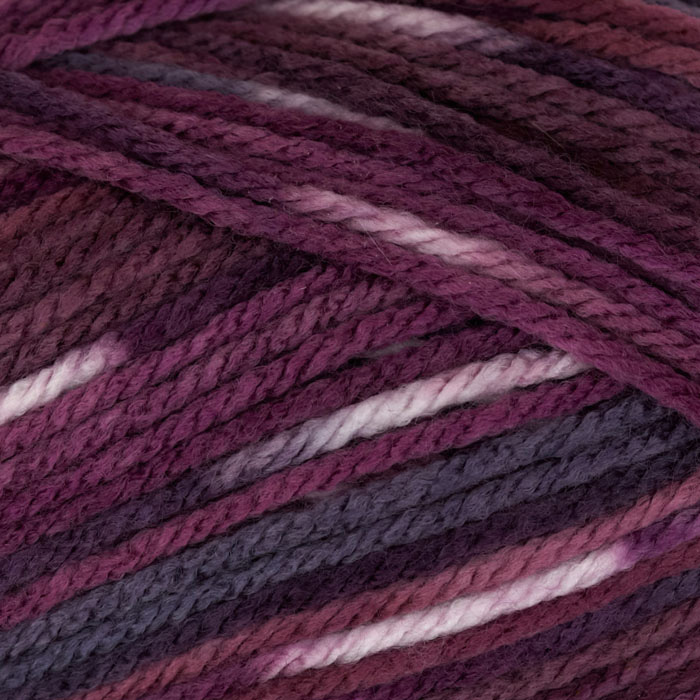 Deborah Norville Everyday Prints Yarn 28 Plum Jam