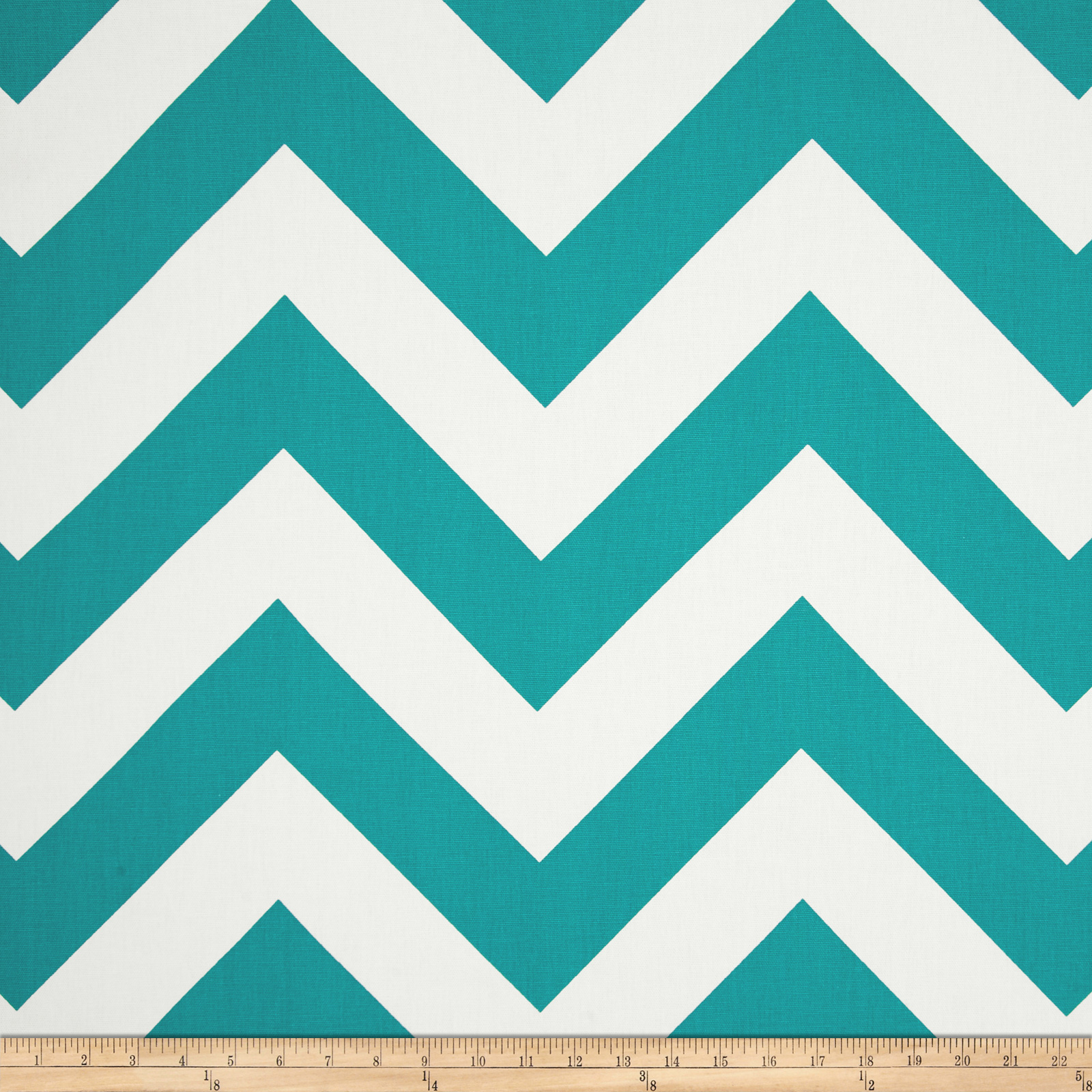 Premier Prints Zippy True Turquoise Fabric
