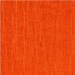 Nylon Crinkle Cloth Bright Orange