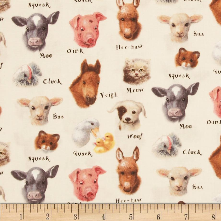 Animal Friends Animals and Sounds Cream