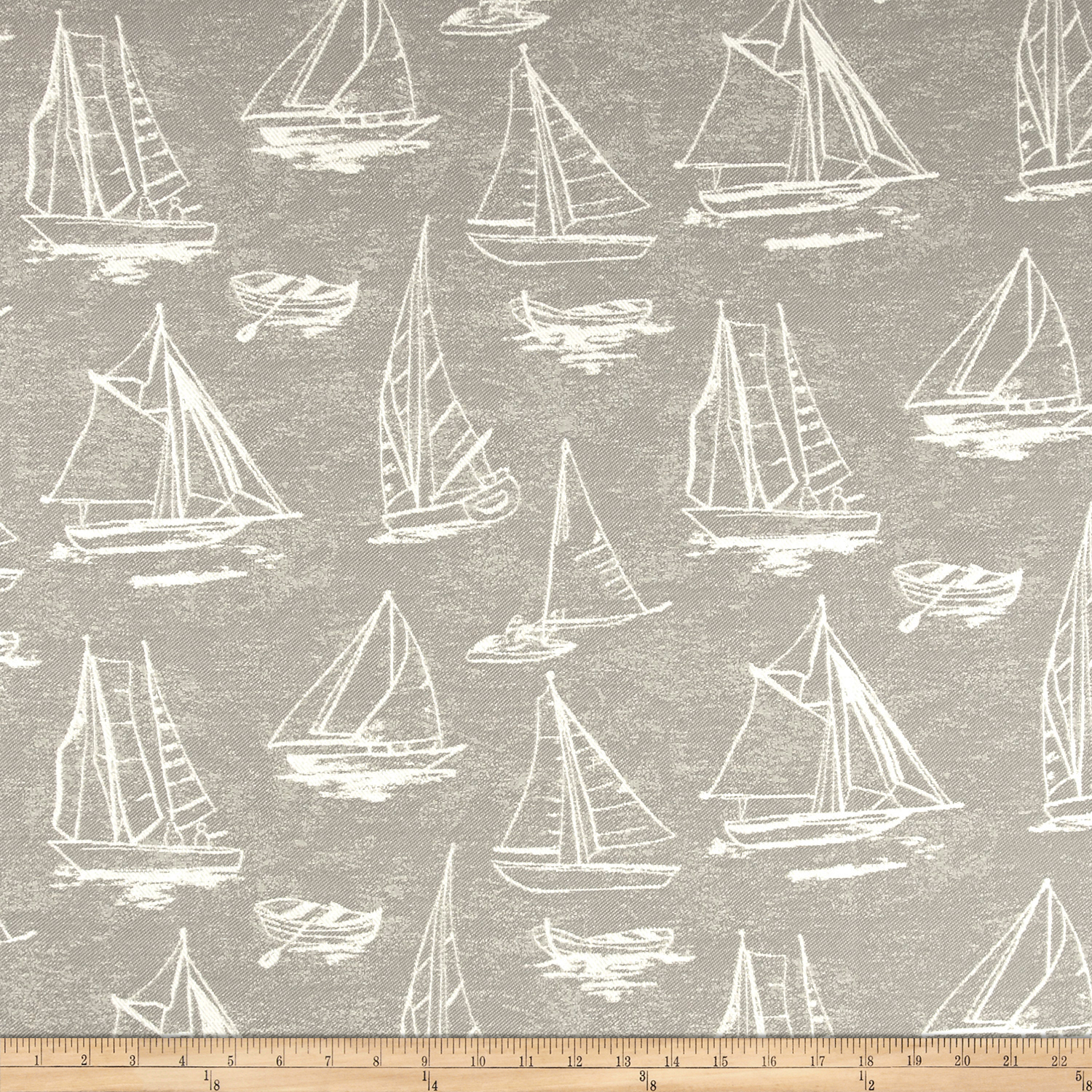 Covington Outdoor Solution Dyed Spindrift Dolphin Fabric