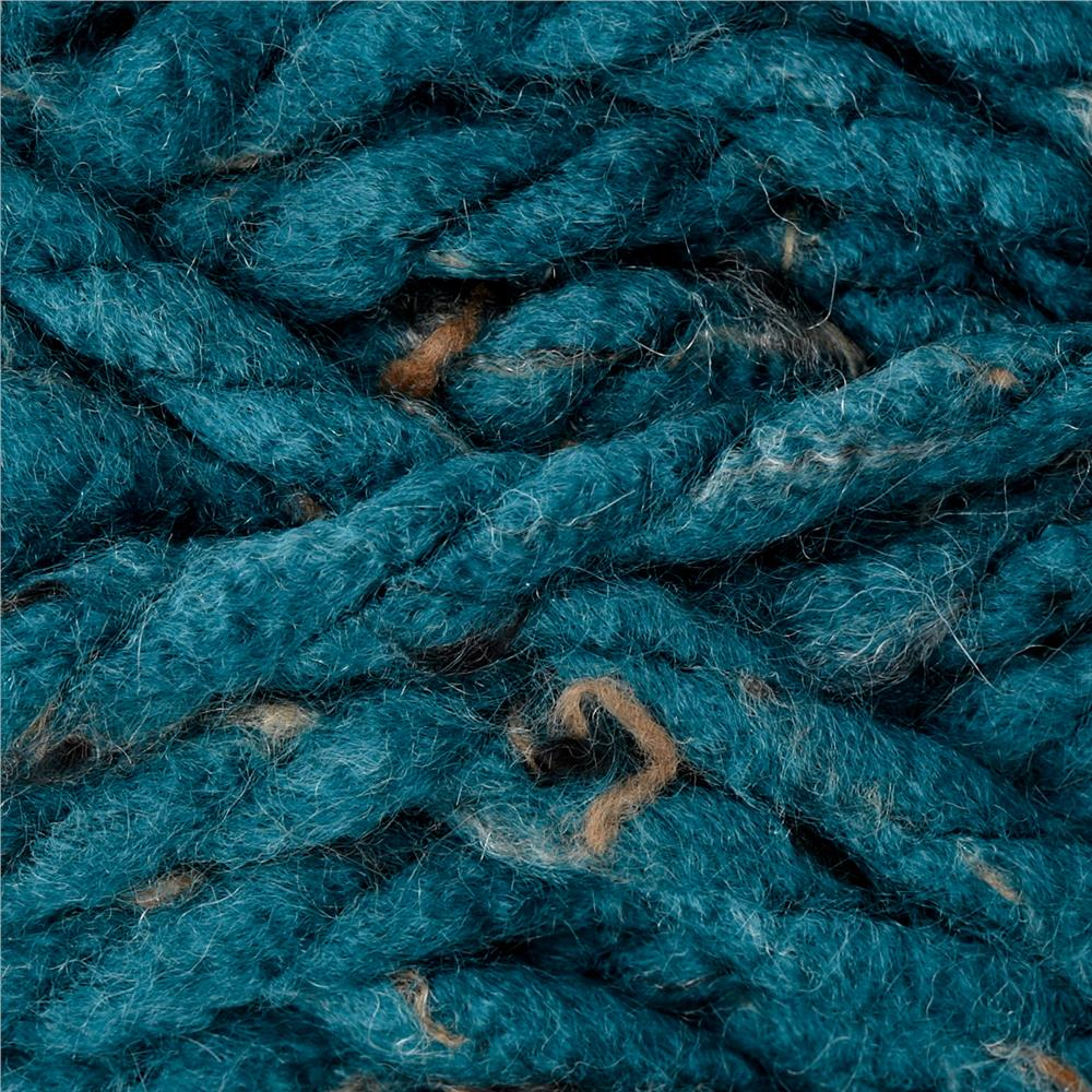 Premier Mega Tweed Super Bulky Yarn 08 Blue Tweed