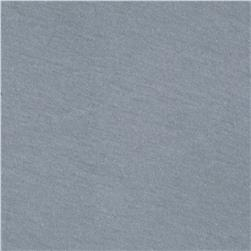 Designer Cotton Blend Jersey Knit Light Charcoal Grey