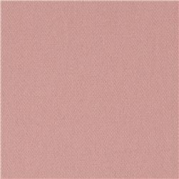 Stretch Cotton Twill Powder Pink