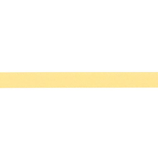 3/8'' Double-sided Satin Ribbon Yellow