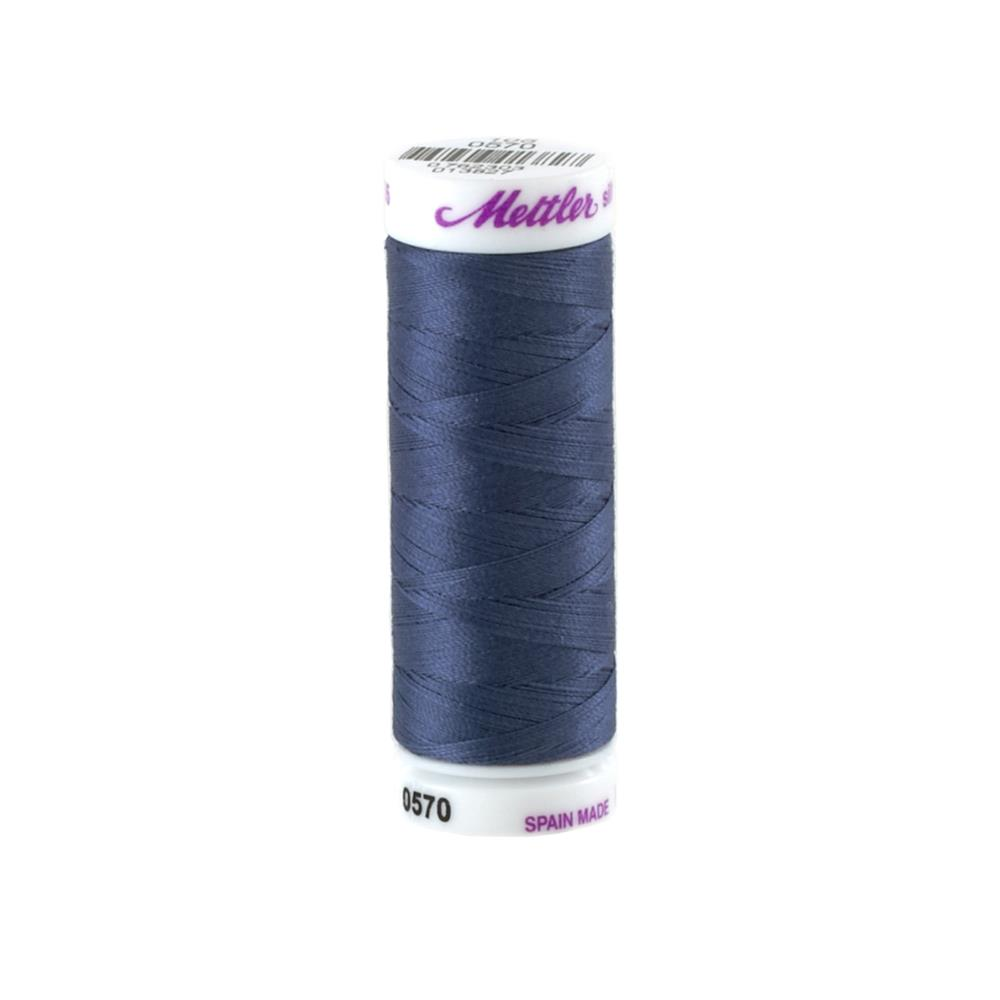 Mettler Cotton All Purpose Thread 3-ply 50wt 164YDS Night Blue