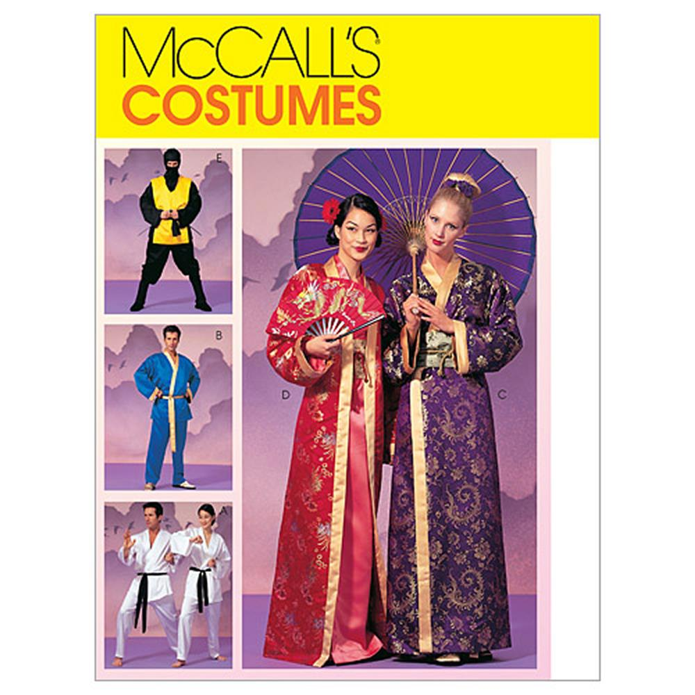 McCall's Misses', Men's and Teen Boys' Robe Costumes