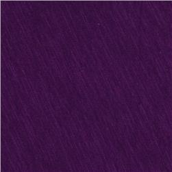 Jersey Cotton Slub Knit Hot Purple