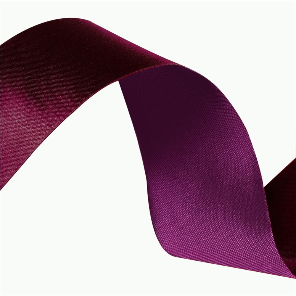 1 1/2'' Iridescent Satin Ribbon Fuchsia/Violet