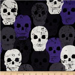 Michael Miller Skulls Out Skull of Rock Purple