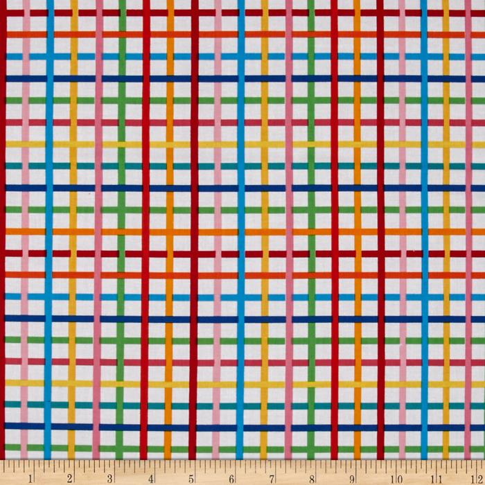 Kaufman Rainbow Remix Grid Bright