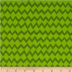 Monster Mash Zig Zag Green