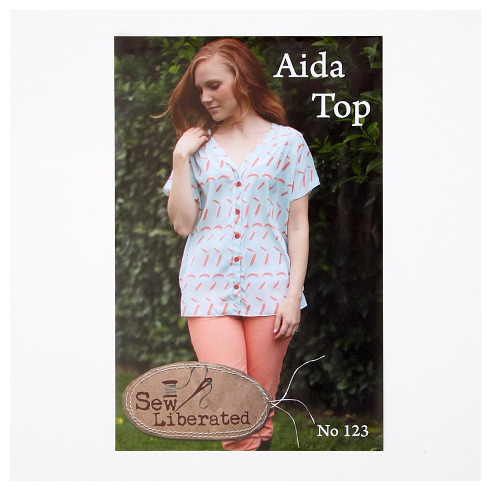 Sew Liberated Aida Top Pattern