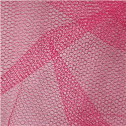 Nylon Netting Light Garnet Fabric