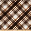 Kanvas Into the Woods Soft Plaid Chocolate
