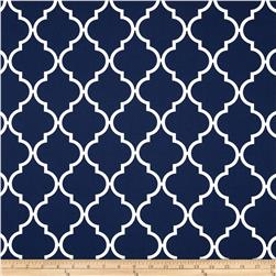 Moda Quattro Quatrefoil Grande Nautical Blue