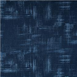 Michael Miller Painters Canvas Navy
