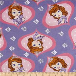 Disney Minky Sofia The First Properly Princess Pink