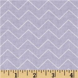 DIY Chevron Lilac