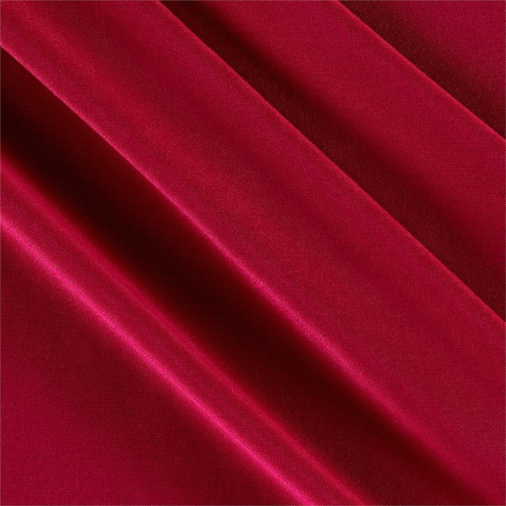 Poly spandex stretch ity knit solid hot pink discount for Spandex fabric
