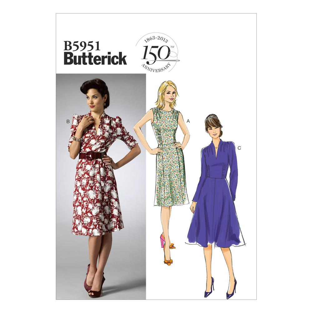 Butterick Misses' Dress Pattern B5951 Size B50