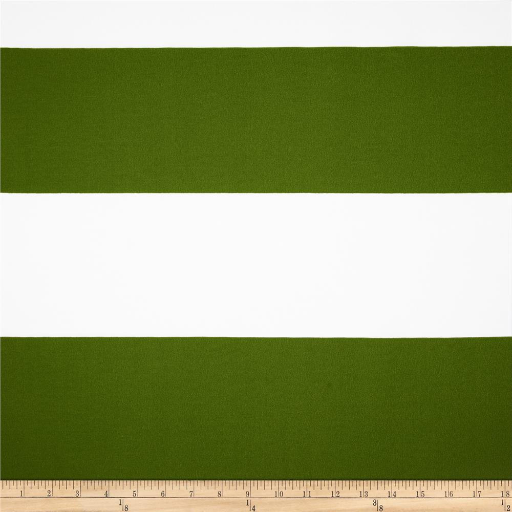 Premier Prints Indoor/Outdoor Cabana Stripe Bay Green