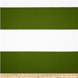 Premier Prints Indoor/Outdoor Cabana Stripe Bay Green Fabric