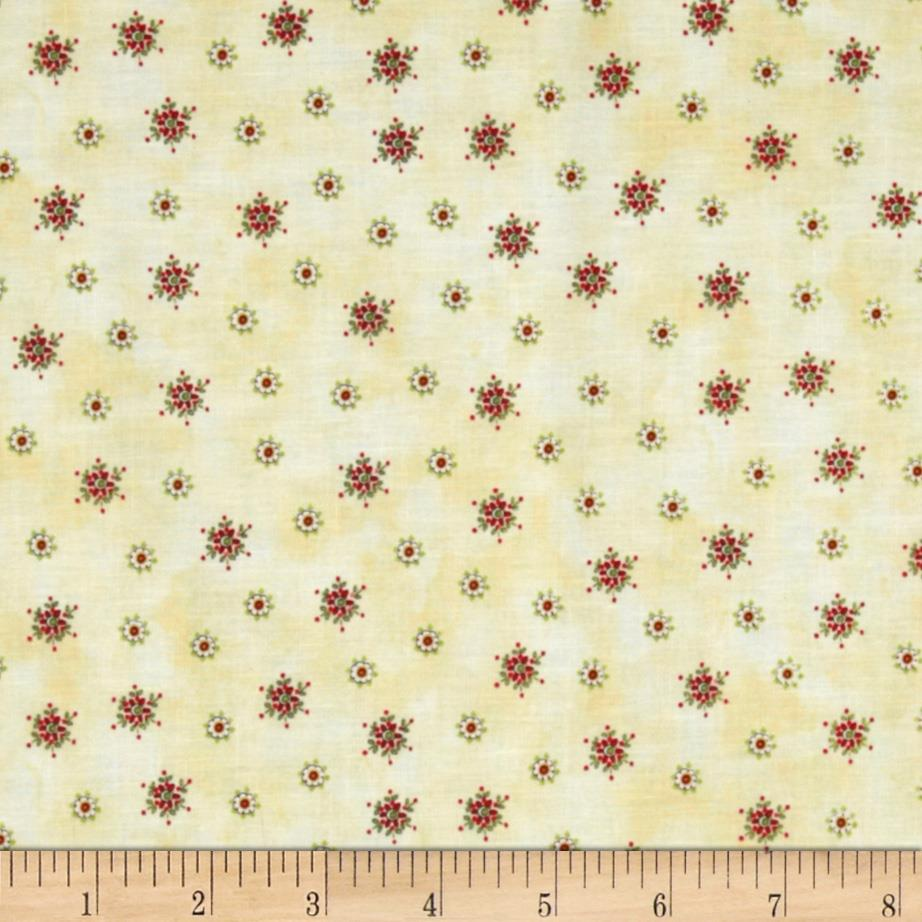 Peppermint Lane Small Flowers Cream