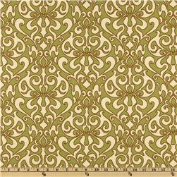 Richloom Indoor/Outdoor Verti Kiwi Home Decor Fabric